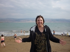 After the 'swim' in the Dead Sea